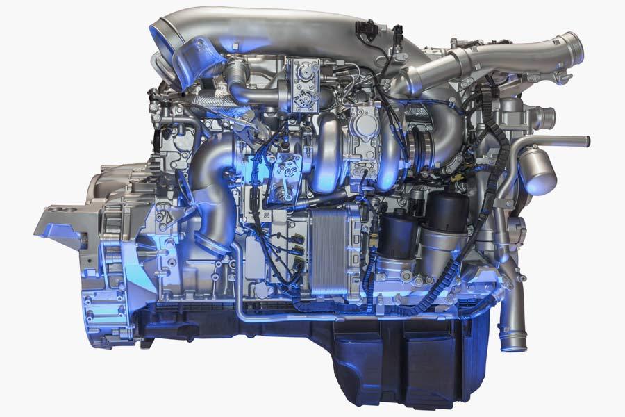 Motor-Innenreinigung